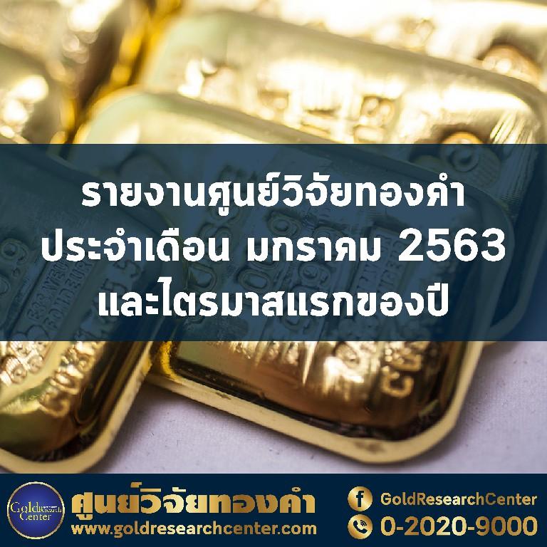 สหรัฐฯ-อิหร่านระอุ ดันดัชนีราคาทองคำพุ่ง