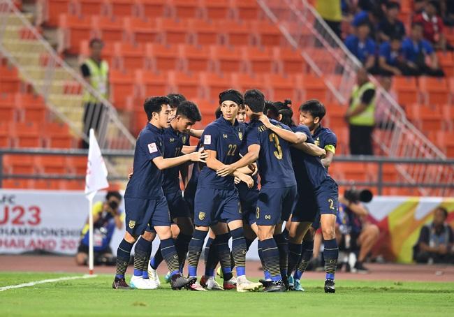 """""""ช้างศึก"""" บีบหัวใจ เจ๊า """"อิรัก"""" 1-1 ทะลุ 8 ทีม ลุ้นตั๋วอลป. ศึก U23 เอเชีย"""