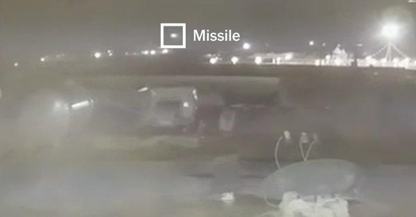 สื่อแพร่คลิปใหม่ นาทีขีปนาวุธอิหร่าน2ลูกสอยร่วงเครื่องบินโดยสารยูเครน