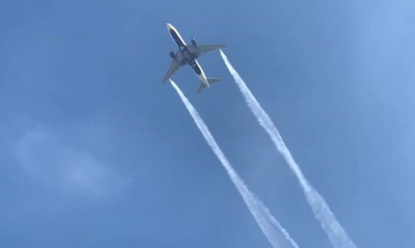 สุดชุ่ย! เครื่องบินเดลตา 'ปล่อยน้ำมันทิ้ง' เหนือโรงเรียนในแอลเอ ทำครู-นร.เจ็บอื้อ