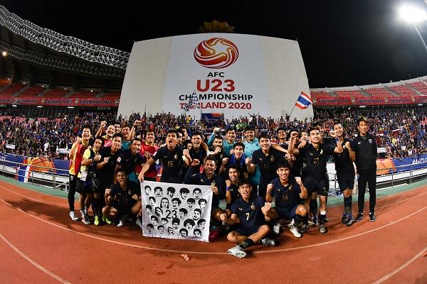 """ส.บอล ยัน """"ช้างศึก"""" เตะ """"ธรรมศาสตร์"""" รอบ 8 ทีม U23 เอเชีย"""
