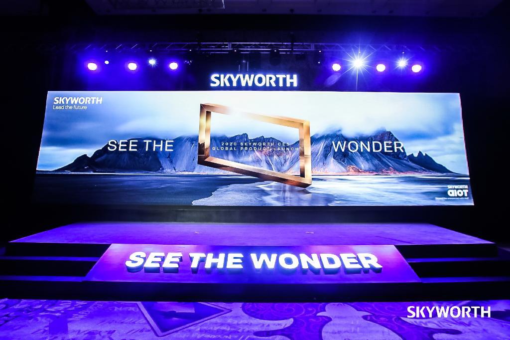 สกายเวิร์ท เผยโฉมพรีเมี่ยม AIoTV รุ่นใหม่แห่งปี 2020 ครั้งแรกในโลก