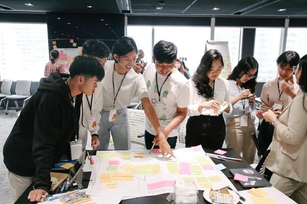 การเวิร์กช็อปโครงการ Youth CoLab