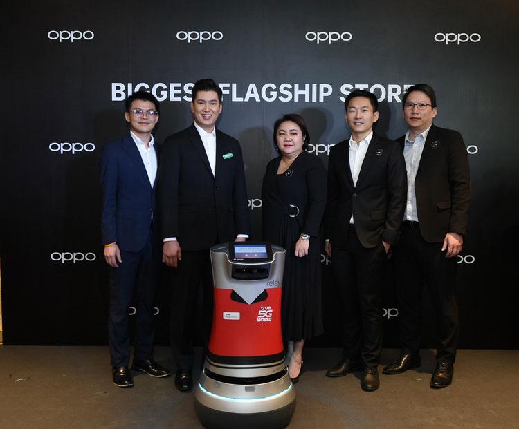 ทรูมูฟ เอช จับมือ OPPO โชว์นวัตกรรม True 5G World ใน OPPO Biggest Flagship Store in Thailand