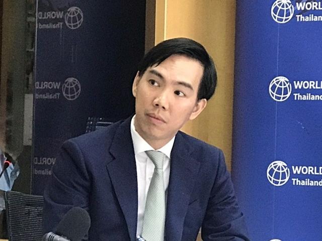 ธนาคารโลกคาดจีดีพีไทยปีนี้โต 2.7%