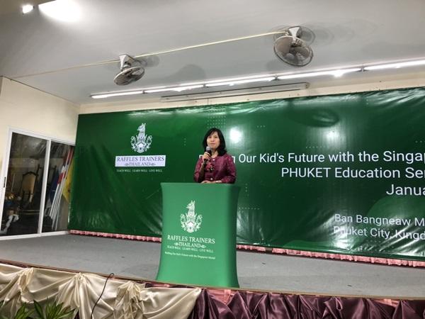 ราฟเฟิลส์สิงคโปร์-ไทย ร่วมพัฒนาการศึกษาในรูปแบบสิงคโปร์ ที่ภูเก็ต เตรียมพร้อมรับมือการเปลี่ยนแปลงของโลกด้านการศึกษา