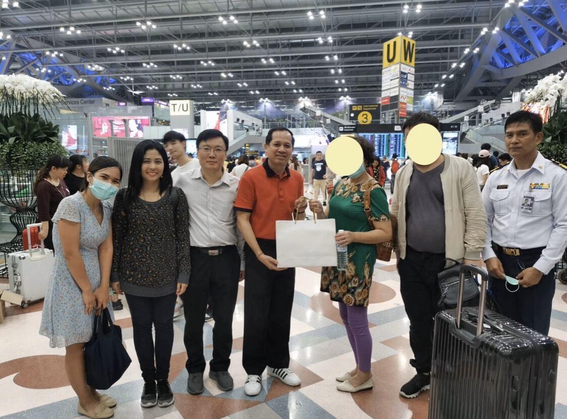 ผู้ป่วยไวรัสอู่ฮั่นรายแรกของไทย หายดีให้กลับประเทศจีนแล้ว