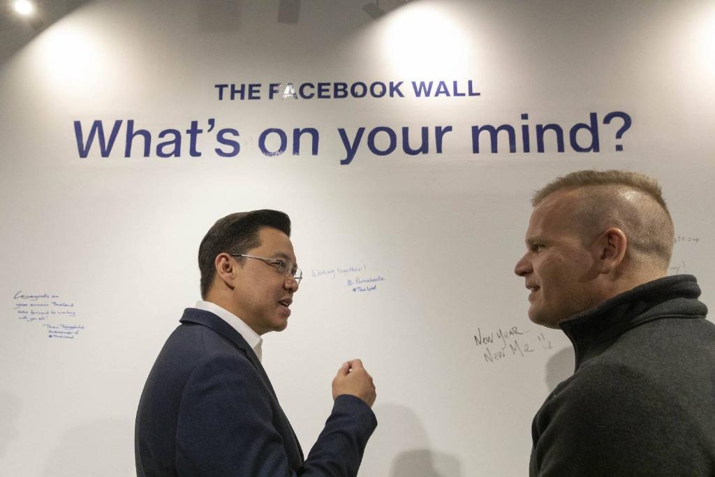 รมว.ดีอีเอส จับมือ  เฟซบุ๊ก แก้ปัญหา 4 ด้าน