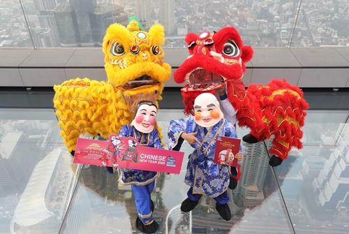 ต้อนรับเทศกาลตรุษจีนที่คิง เพาเวอร์ มหานคร