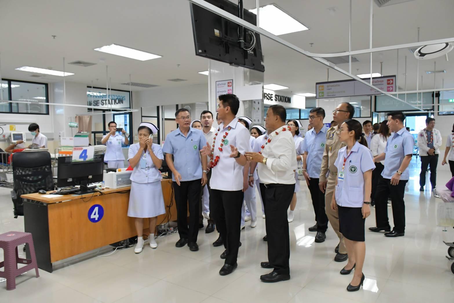 รพ.ปัตตานี ใช้เทคโนโลยีปฐมพยาบาลออนไลน์ ดูแลผู้ป่วยฉุกเฉินจุดเกิดเหตุ
