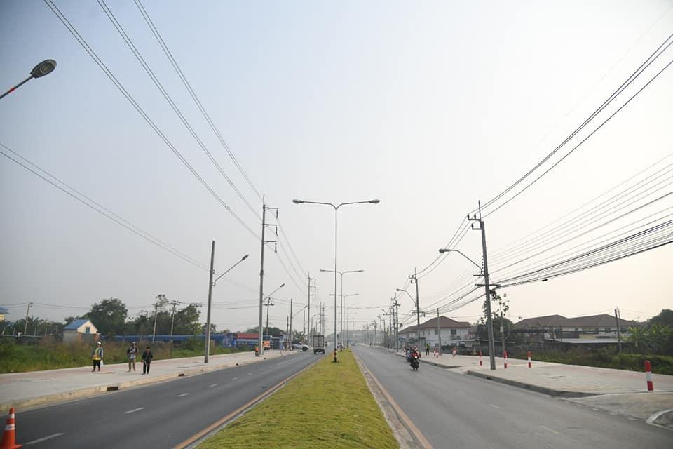 เปิดแล้ว! ถนนประชาร่วมใจ-ถนนมิตรไมตรี รองรับการจราจรเชื่อมต่อโครงข่ายถนนแนวตะวันออก-ตะวันตก