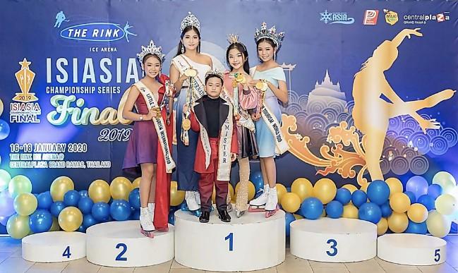 """""""น้องเบจิง""""ศรีสุภา เกศวพิทักษ์ ร่วมแข่งขัน ISIASIA Championship series Final 2019"""