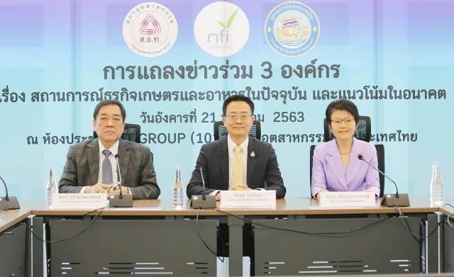 3องค์กรเผยจีนขึ้นแท่นตลาดส่งออกอาหารไทยอันดับ1แซงCLMVครั้งแรกเป็นประวัติการณ์