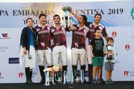 ทีม Fast Fish Mendoza คว้ารางวัลชนะเลิศ