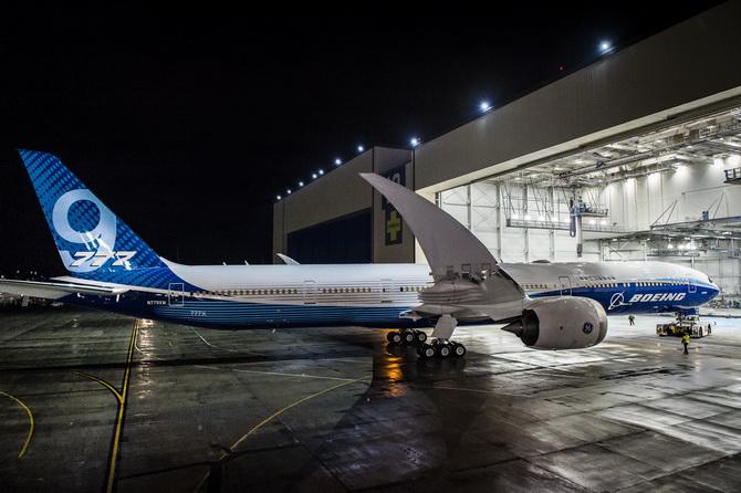 โบอิ้งเตรียมส่งเครื่องบินระยะไกล 777X ขึ้นสู่ท้องฟ้าเป็นครั้งแรก