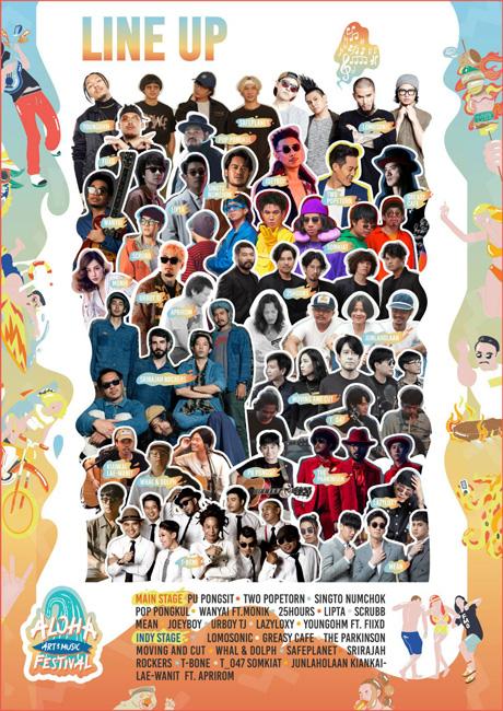 ALOHA Art & Music Festival 2020 ครั้งแรก! กับคอนเสิร์ตริมหาดที่รวมศิลปินมากสุด