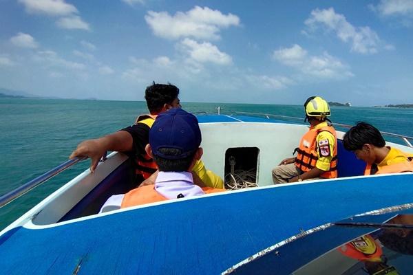 พบแล้วศพลูกเรือประมงถูกเพื่อนแทงตกทะเลสมุย ลอยไปขึ้นเกาะเต่า