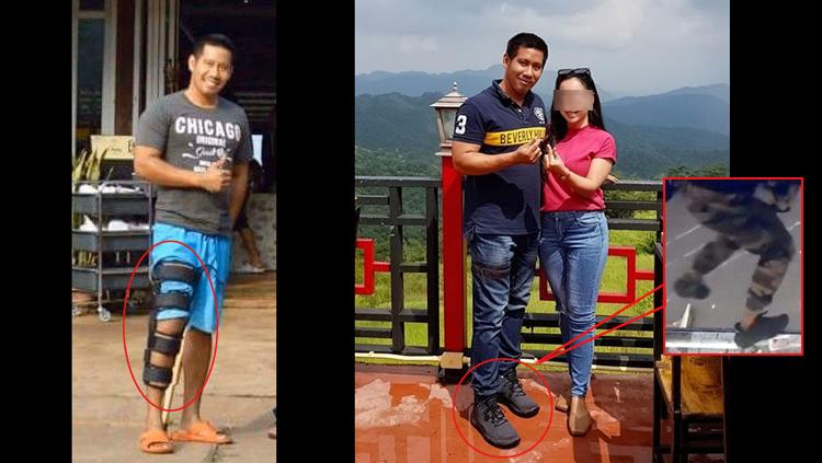 ภาพหลักฐานมัดตัวผอ.ปล้นฆ่า 3 ศพ ที่มาท่าเดิน-รองเท้าก่อเกตุ?