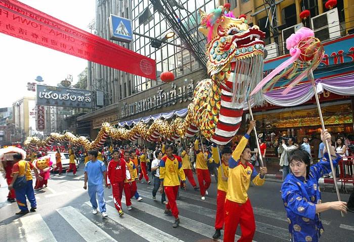 งานตรุษจีนเยาวราช จัดอย่างยิ่งใหญ่ทุก ๆ ปี