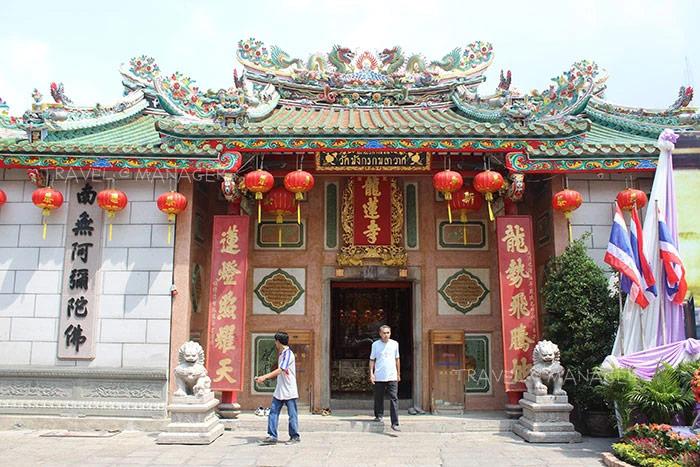 วัดเล่งเน่ยยี่ เป็นวัดจีนที่มีชื่อเสียงที่สุดในเยาวราช