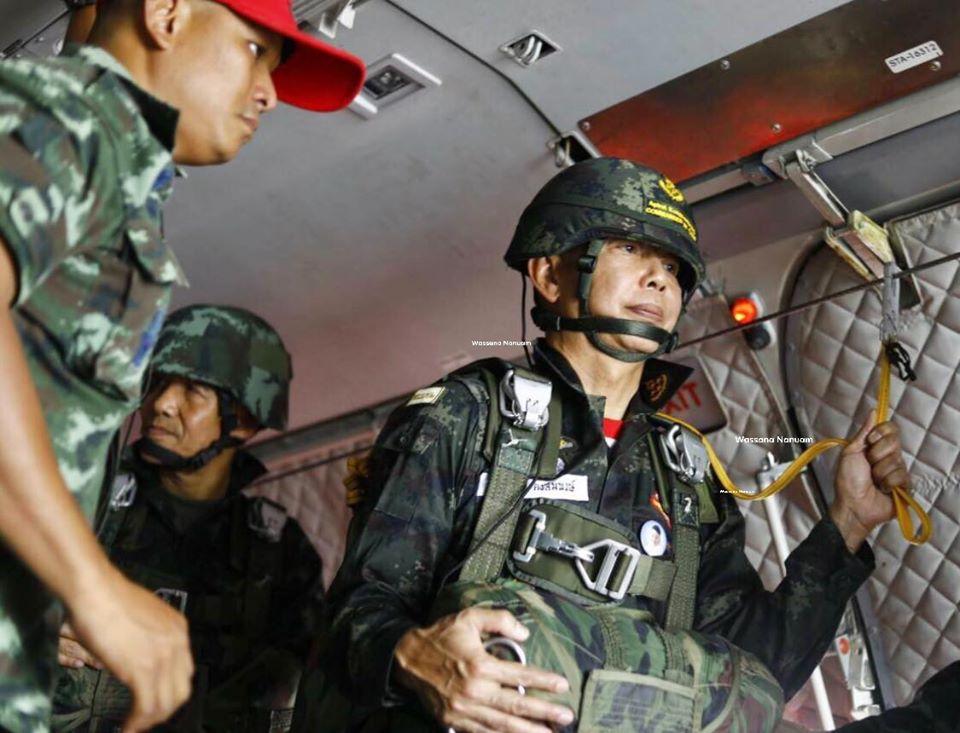 พล.อ.อภิรัชต์ คงสมพงษ์ ผู้บัญชาการทหารบก (ภาพจากเฟซบุ๊ก Wassana Nanuam)