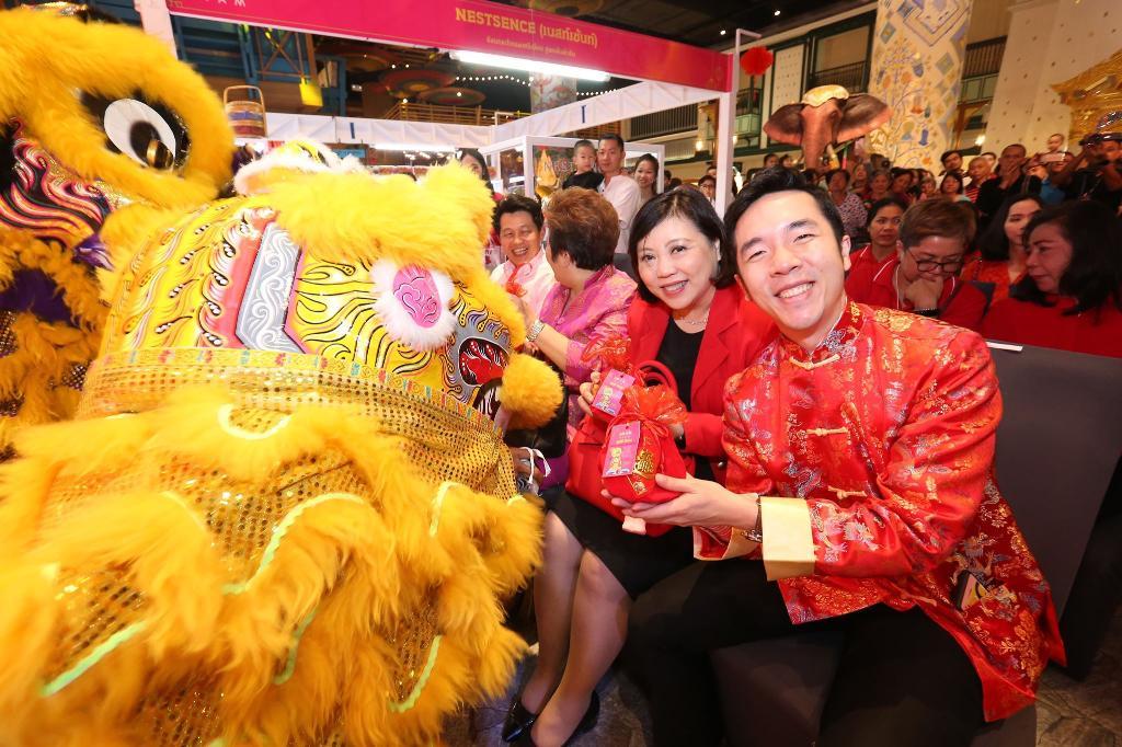 """เมืองสุขสยาม ฉลองตรุษจีนสุดยิ่งใหญ่  """"สุขสยาม สุขขี ปีเฮง สมหวัง ตลอดปี มั่งมีตลอดไป""""  ผนึกกำลัง ซีพีเอฟ"""