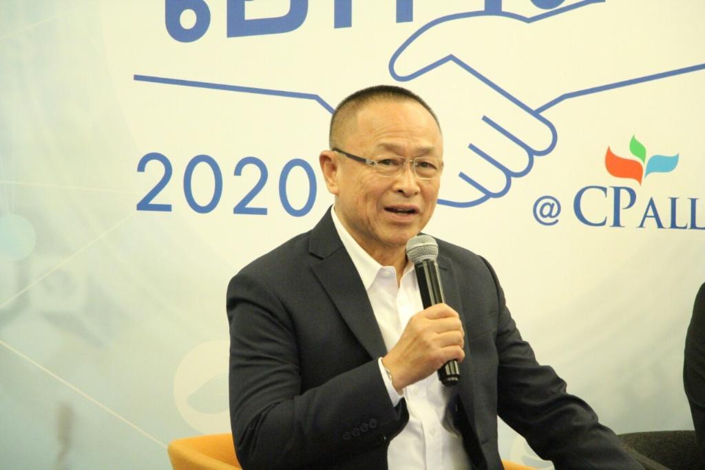 นายบัญญัติ คำนูณวัฒน์ ที่ปรึกษาคณะเจ้าหน้าที่บริหาร บริษัท ซีพี ออลล์ จำกัด (มหาชน) ผู้ก่อตั้งร้าน เซเว่น อีเลฟเว่น ในประเทศไทย