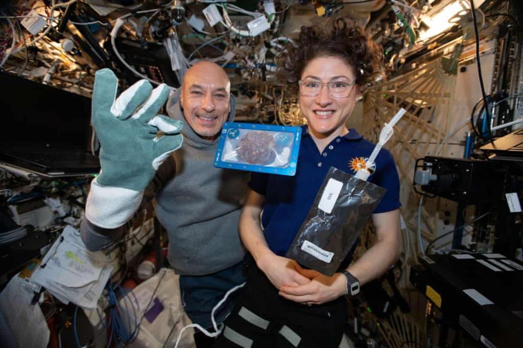 อบคุกกี้ในอวกาศสำเร็จครั้งแรก