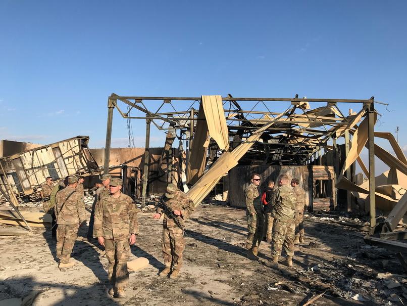 สหรัฐฯ ยืนยันทหาร 34 นาย 'บาดเจ็บทางสมอง' หลังอิหร่านโจมตีฐานทัพ