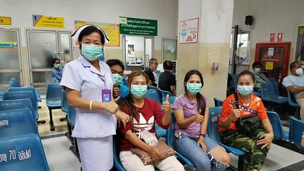 รพ.ชัยนาท เข้มมาตรการคัดกรอง –  เฝ้าระวังโรคปอดอักเสบจากเชื้อไวรัสโคโรนา