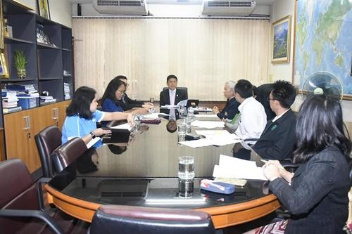 ประชุมคณะทำงานความร่วมมือไทย –ภูฏาน ครั้งที่ 1/ 2563