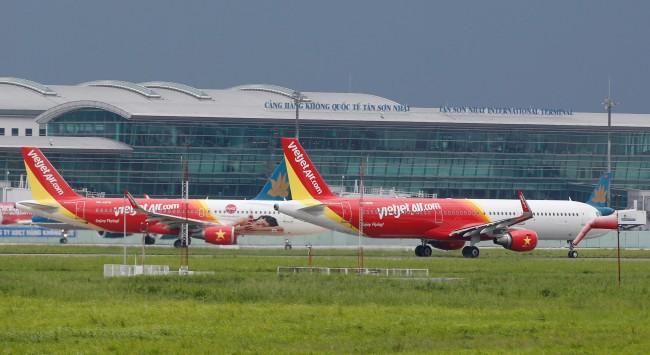 เวียดนามไฟเขียวเวียดเจ็ทแอร์ 4 เที่ยวบินส่งนักท่องเที่ยวจีนจากอู่ฮั่นกลับประเทศ