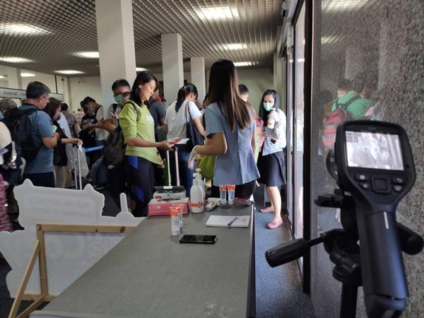 คุมเข้มสนามบินหัวหิน ยอมรับไวรัสโคโรนากระทบท่องเที่ยวระยะสั้น