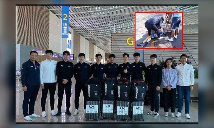 วอนขอกล้องหน้ารถผู้เห็นเหตุการณ์น่องเหล็กทีมเยาวชนเกาหลีประสบอุบัติเหตุเสียชีวิต