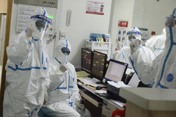 ทีมแพทย์ที่โรงพยาบาลอู่ฮั่น ส่งสัญญาณเตียมพร้อมสู้ตาย ที่มาเอเจนซี่