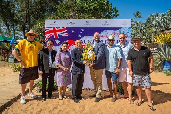 กลุ่มโรงแรมชั้นนำหาดไม้ขาว จัดงานเฉลิมฉลองเทศกาลวันชาติออสเตรเลีย