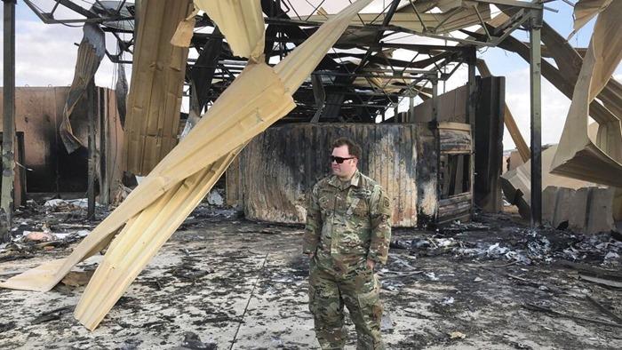 กลาโหมUSเพิ่มตัวเลขทหารเจ็บเป็น50  จากกรณี'อิหร่าน'โจมตีแก้แค้นให้นายพลคนดัง