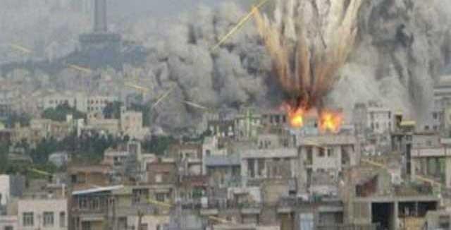 สลด! รัสเซียทิ้งบอบ์พื้นที่กบฏในซีเรีย คร่าชีวิตพลเรือน 10 คน