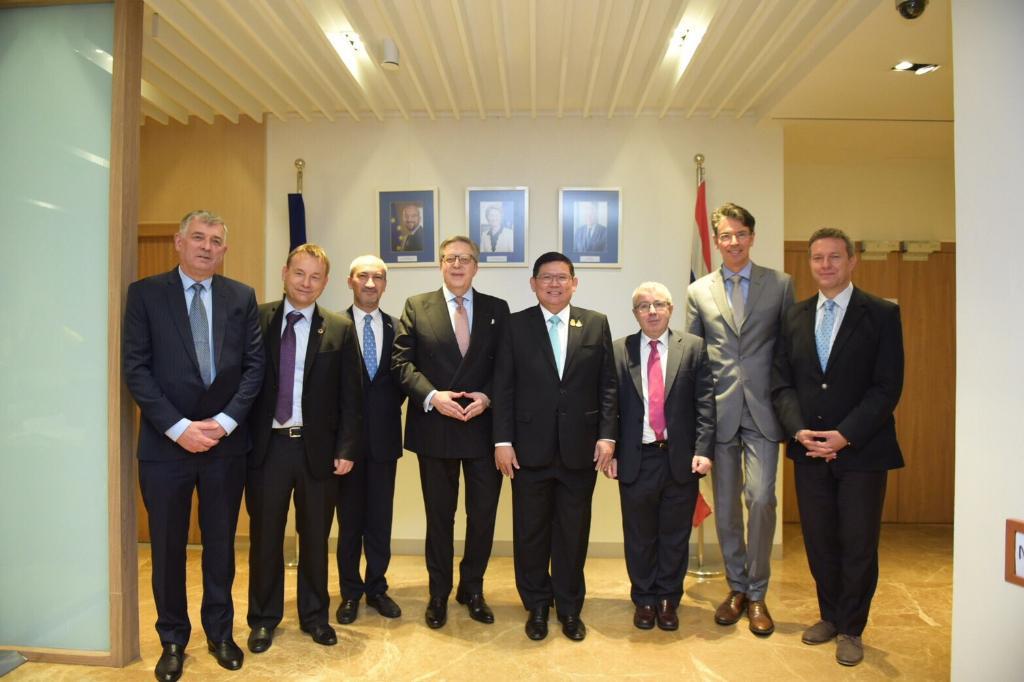 เจรจาโต๊ะกลมขยายความร่วมมือเศรษฐกิจแนวใหม่ BCG ไปยุโรป