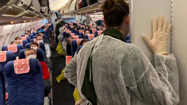 """ฝรั่งเศสพบผู้แสดงอาการ """"ไวรัสโคโรนา"""" 36 คน หลังอพยพจากจีน"""