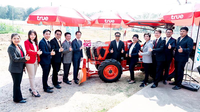กลุ่มทรู ลุยทดสอบ 5G ช่วยภาคเกษตรกรรม พัฒนาฟาร์มไก่ แปลงข้าวโพด เครื่องจักรกล