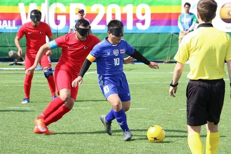 ทัพลูกหนังตาบอลไทยส้มหล่น! คว้าโควต้าลุยพาราลิมปิกเกมส์ 2020 แทนอิหร่าน