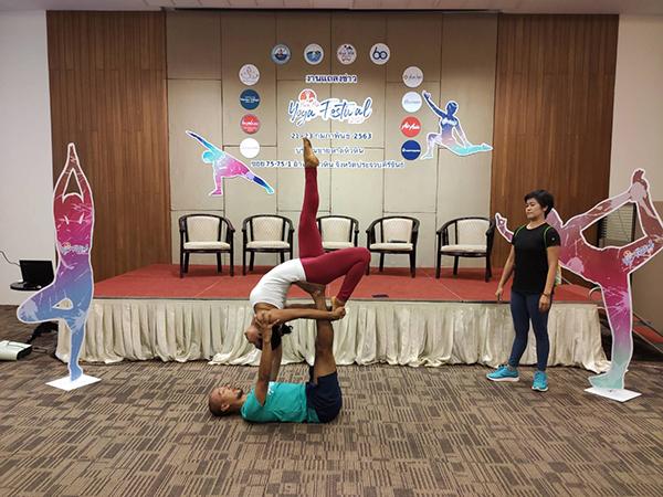 """ททท.เตรียมจัด """"Hua Hin Yoga Festival สร้างความมั่นใจเมืองท่องเที่ยวหัวหิน"""