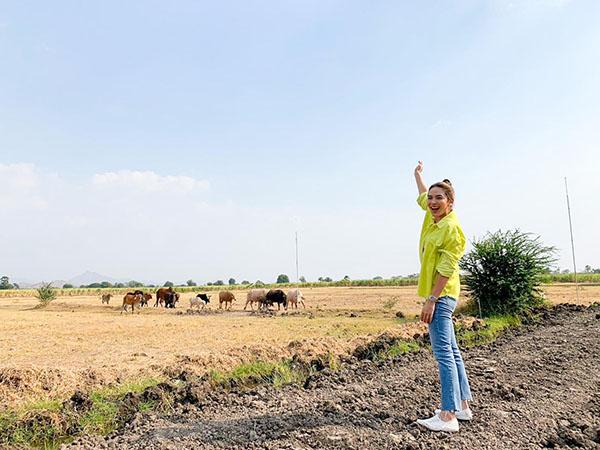 """""""น้ำหวาน"""" ต้อนควาย ท่องเที่ยวเชิงเกษตร ชิมน้ำพริกกะปิสูตรเด็ด ตำรับพระนารายณ์"""