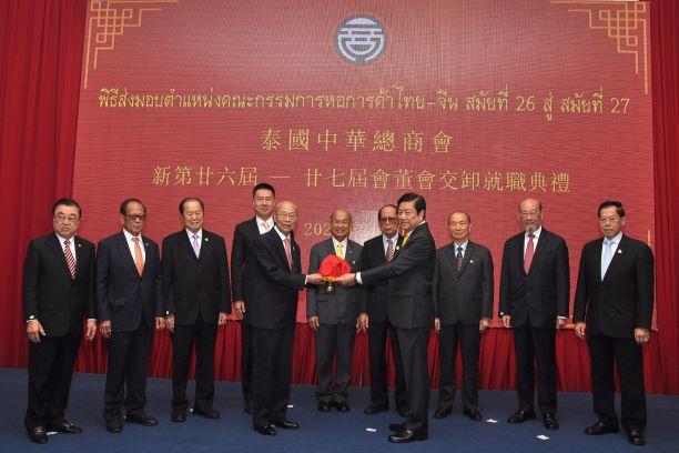 """""""ณรงค์ศักดิ์""""ประธานหอการค้าไทย –จีนคนใหม่เร่งเครื่องปี'63ดึงลงทุนจีนปักธงอีอีซี"""