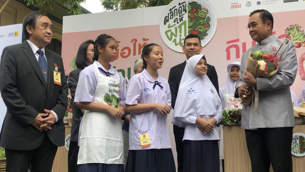 สสส.หนุนคนไทยบริโภคผัก-ผลไม้ต้านโรคNCDs