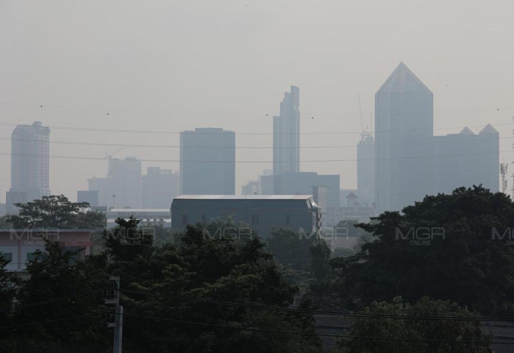 ค่าฝุ่น PM 2.5 กทม.-ปริมณฑล กระทบต่อสุขภาพ เกินมาตรฐาน 29 พื้นที่ มีแนวโน้มเพิ่มขึ้น