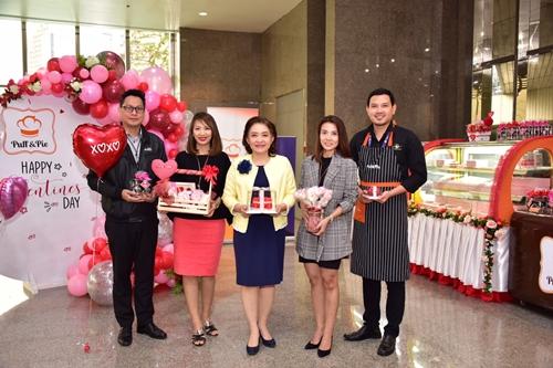 ครัวการบินไทยจำหน่ายขนมหวานเมนูพิเศษเนื่องในเทศกาลวันวาเลนไทน์