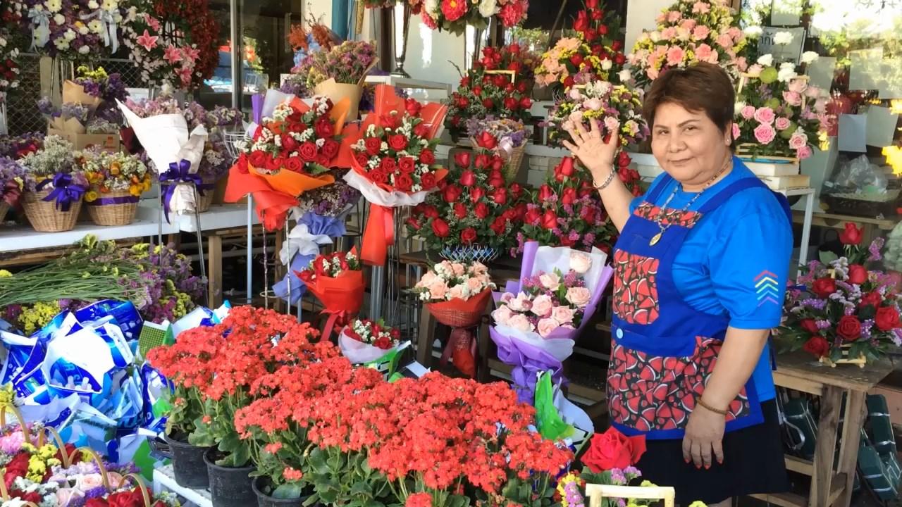 ร้านดอกไม้เชียงใหม่เริ่มขยับ คึกคักขายกุหลาบวาเลนไทน์