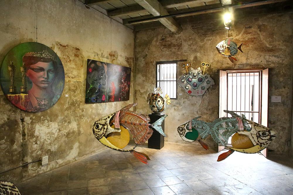 ผลงานของ สุวิทย์ มาประจวบ 1 ในศิลปินที่มาร่วมในงาน LHONG 1919 ART FAIR 2020